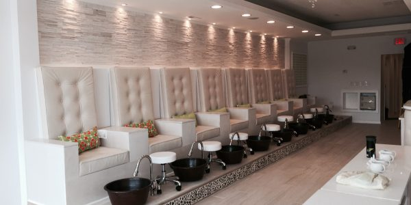 Green Nails Spa Design By Mongol Group Construction