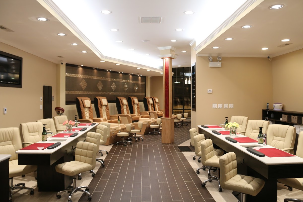 Ruby Nails in Chicago - Designed by Mongol Group Contruction